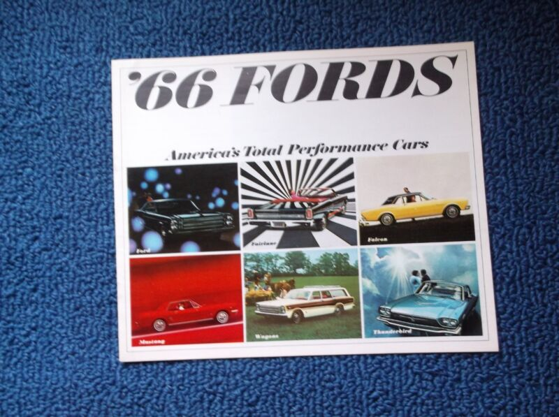 1966 Ford BROCHURE