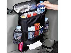 car rear seat cool bag organiser baby bottle hot cold drinks can holder cooler ebay. Black Bedroom Furniture Sets. Home Design Ideas