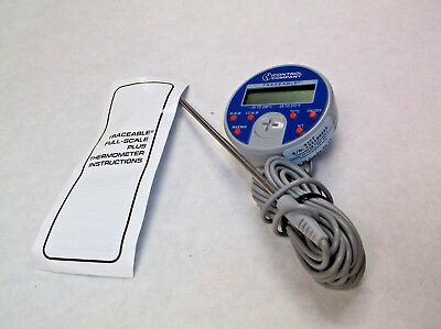 New Traceable 4377 Thermistor Thermometer-58 To 572fdigital 3kgp4 A28j