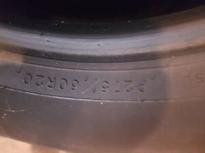 2 Goodyear all season tires