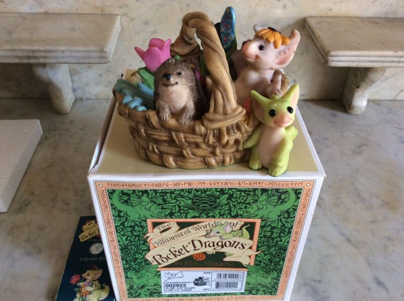 Pocket Dragons: Gardening Basket : Limited edition: mint condition