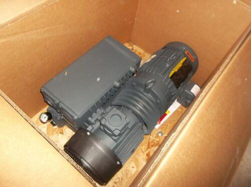 Busch RA0100.F5ZX6.11XX, 5 HP rotary vane vacuum pump. Immediate shipment.