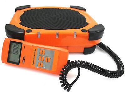 Digital Hvac R410a R134a R12 R22 Refrigerant Scale Charging 220 Lbs Weight Scale