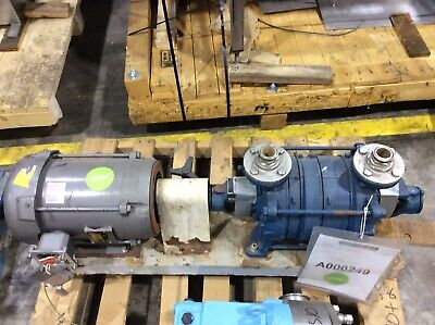 Sihi Lphr Liquid Ring Vacuum Pump 7.5hp 230460v 60hz 3ph