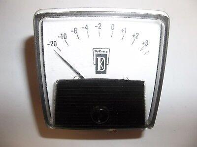 Vintage Dukane General Electric Vu Meter Ge