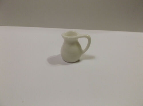 "Miniature Doll House 1:12"" Scale Porcelian Milk Pitcher"