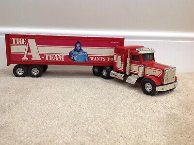 A-TEAM RARE VINTAGE MR T DIE CAST TRUCK LORRY - ERTL