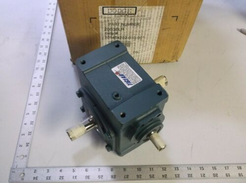 DODGE BALDOR 20S30LR Tigear-2 DUAL OUTPUT GEAR REDUCER 30:1 RATIO