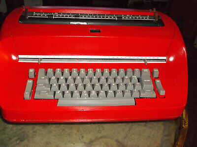 Authentic 1960s Ibm Antique Selectric I Re-furbished Blue Typewriter