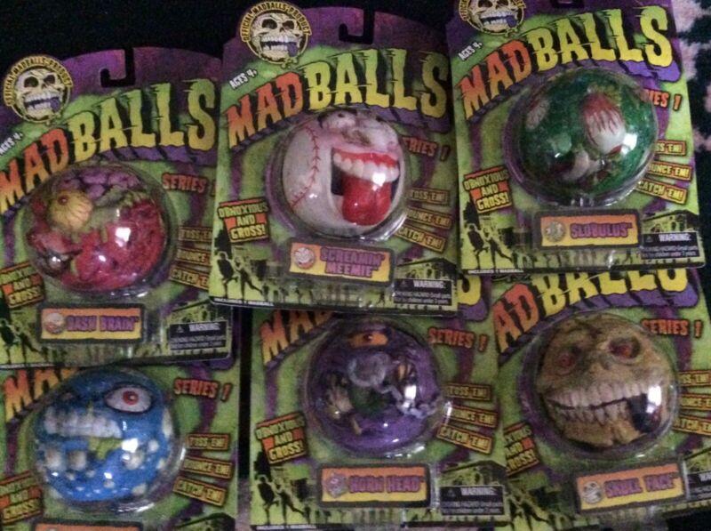 Madballs Set 15 Sealed.