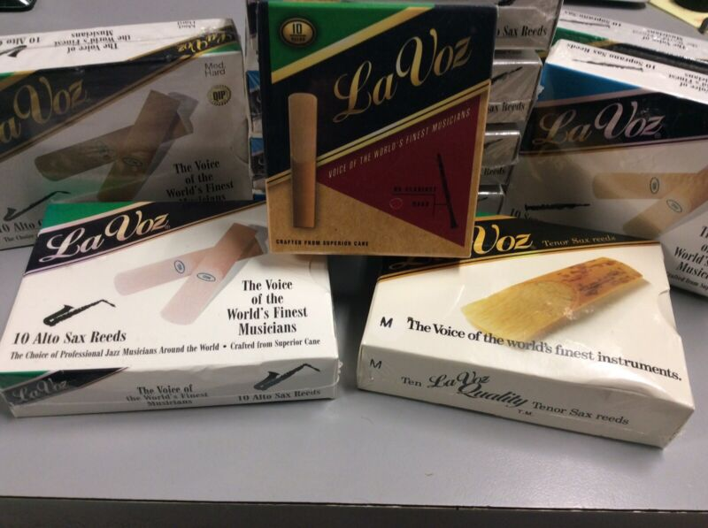 Rico LaVoz Reeds For Saxophone & Clarinet (Well Seasoned!)