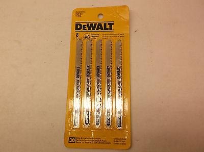 8 tpi Jigsaw Blade 5pk Dewalt Jig Saw Blades DW3755H 5pk (F15R) ()