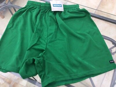 Football Shorts - XL - Emerald Green - New -all Sizes Available
