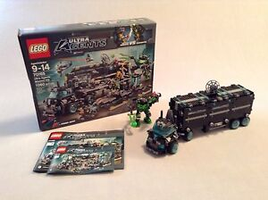 Lego Ultra Agents Mission HQ 1060 Pieces