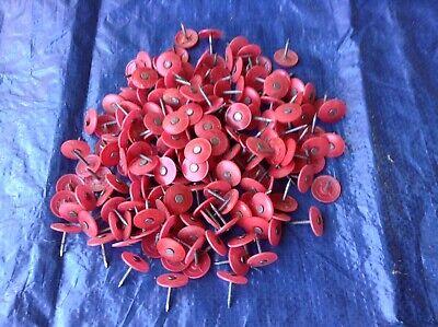 78 House Wrap Felt Paper Cap Nail Fasteners  200 Count