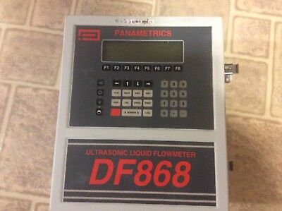 Ge Digitalflow Df868 Panametrics Ultrasonic Liquid Flow Meter