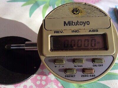 Mitutoyo 543-135 Digital Indicator .0005-.5. 0.01mm-12.7mm
