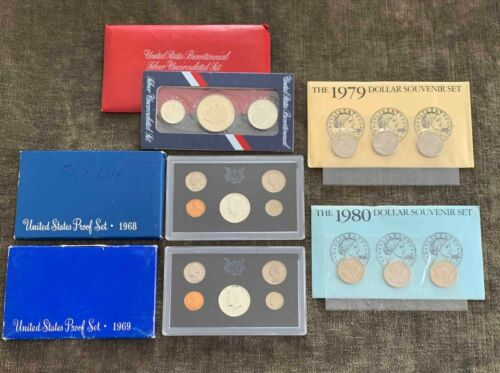 Variety Lot of US Mint Products Silver & Non-Silver Coins - Free Ship US
