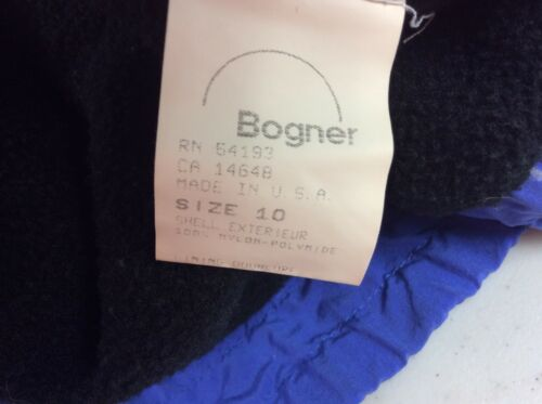 Купить Bogner - BOGNER Winter Jacket Faux Fur Trim Women's 10