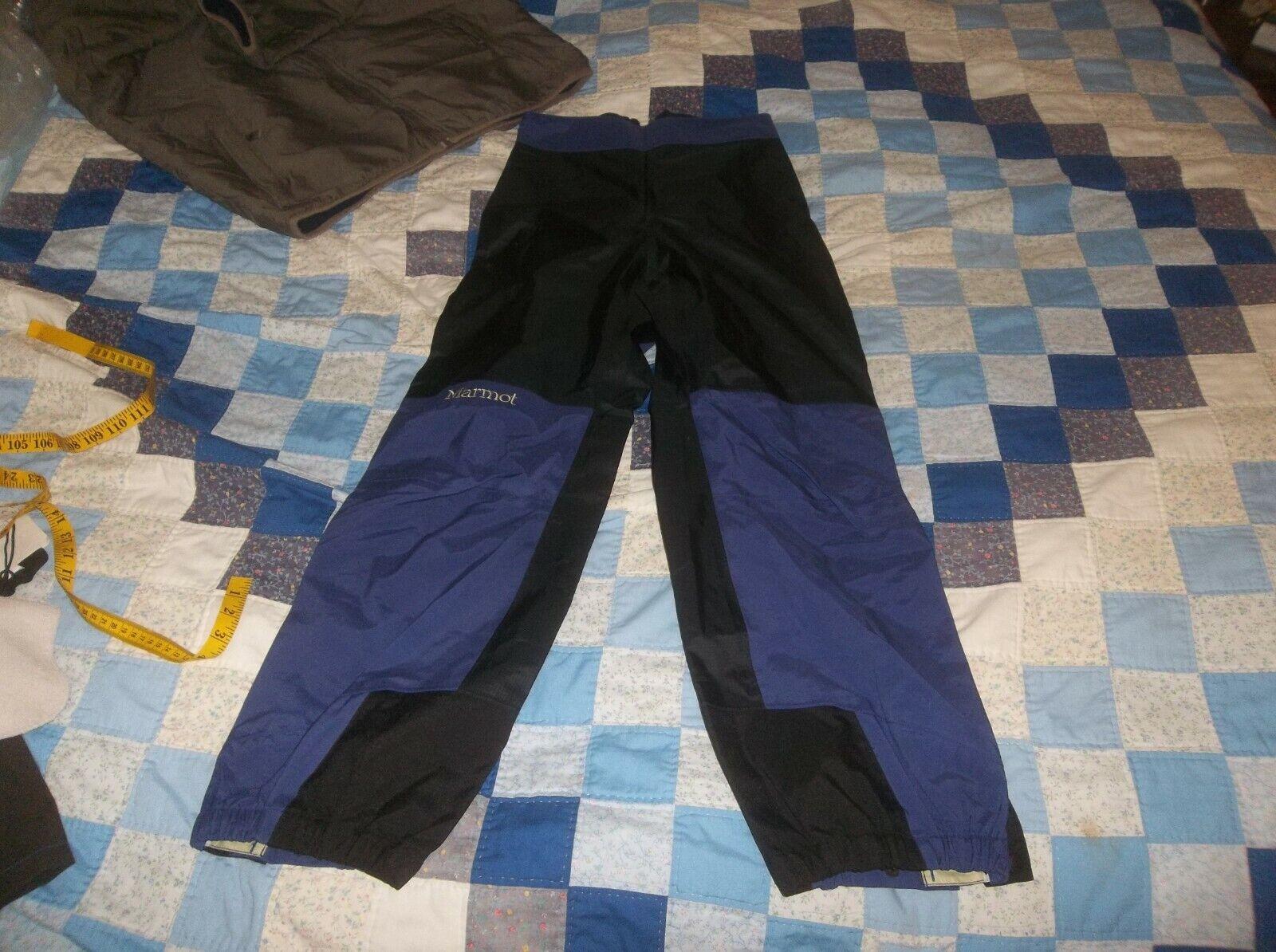 Marmot Thunderlight 3 Ply Gore-tex Pants Ski Hike Climb Full