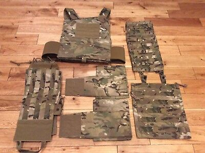 New Eagle Industries Fbi Plate Carrier M L Multicam F Pc L Xl Rbp Hrt Ms 5Cca