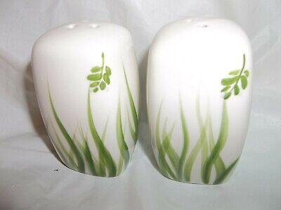 Paula Deen Ceramic Country Island Grasses Salt & Pepper Shakers