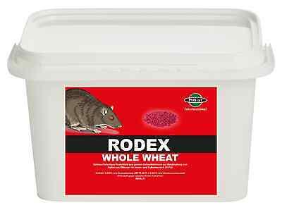 5 kg Rattengift Mäusegift Giftweizen Broma Mäuseköder Rattenköder Weizenköder