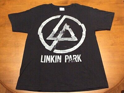 Linkin Park Black Short Sleeve Shirt Adult Medium