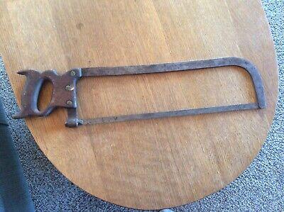 Vintagecast Steel O.v.b. Butcher Meat Saw 18 Blade