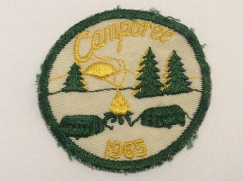 Vintage 1965 Camporee Boy Scout BSA Patch