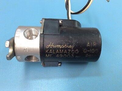 Humphrey 31e1 Mini-myte 24vac Pneumatic Solenoid Valve 0-100psi