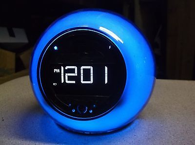 SDI Color Changing Light Up Alarm Clock iBT29 *FREE SHIPPING*