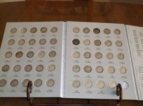 Silver Roosevelt Dime Set 1946-1964