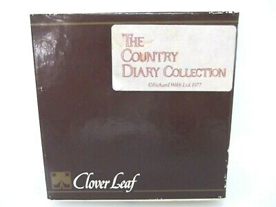 Leaf Diaries Collection (Vintage Clover Leaf The Country Diary Collection Boxed 6 Cork Back Coaster Set)