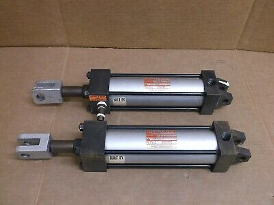 J1233a1 2 X 6 Airserv Norgren Pneumatic Air Cylinder 2 Bore 8 Stroke J1233a1