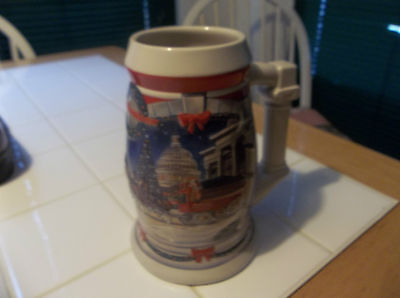 2001 BUDWEISER HOLIDAY STEIN