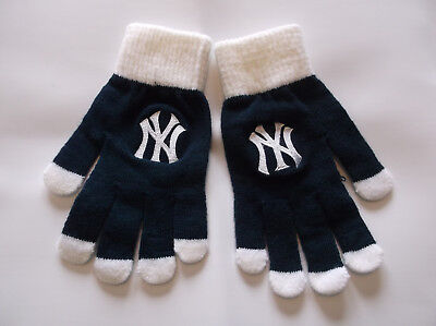 New York Yankees Gloves-NEW by Sports Crate-MLB Licensed