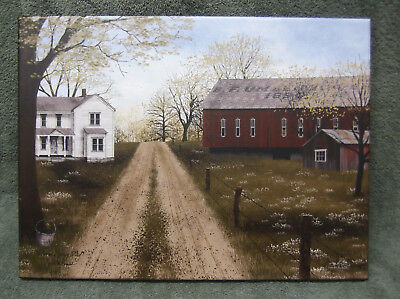 Warm Spring Day Dirt Road Canvas Home Decor Billy Jacobs Barn Farm House