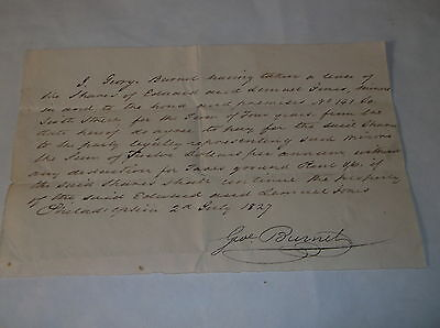 1827 Philadelphia Lease Of Shares In House No  141 So  Sixth Street