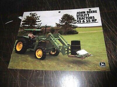 Original John Deere 2150 2350 Tractor Sales Brochure