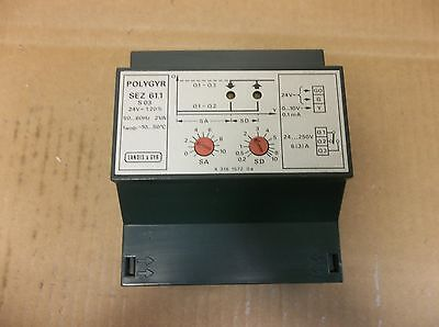 Landis Gyr Polygyr On-off Switch Sez 61.1 24v20 2va 2 Va Sez611