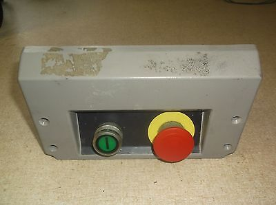 Hobart Model Uws Meat Packer Startstop Button Assembly P9b01fn P9pdnf0