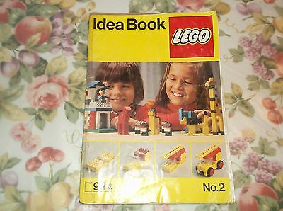 May 1977 Lego Idea Book No. 2 Complete 56 Pages Book is Taped/Rough