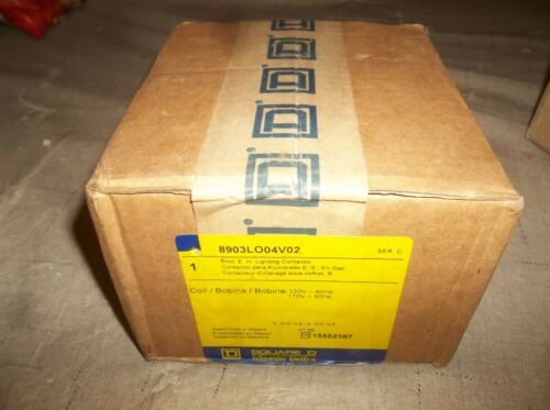 NEW SQUARE D SCHNEIDER ELECTRIC 8903LO04V02 CONTACTOR 8903LO04