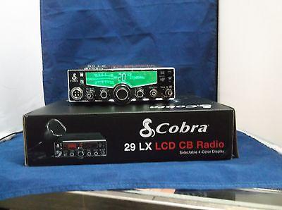 NEW COBRA 29 LX 29LX CB RADIO PRO TUNED,UPGRADED MOSFET,SWING KIT, ECHO,TALKBACK