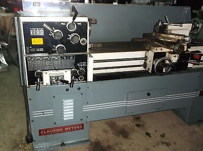 Clausing Metosa Engine Lathe 1340 Nice Little Lathe Watch It Run Below