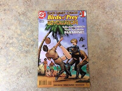BLACK CANARY ORACLE BIRDS OF PREY REVOLUTION #1 NM COMIC 1997 DC