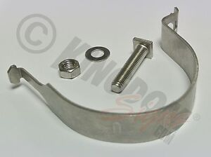 Steel-Round-Post-Mounting-Sign-Clip-Bracket-Clamp-with-bolts