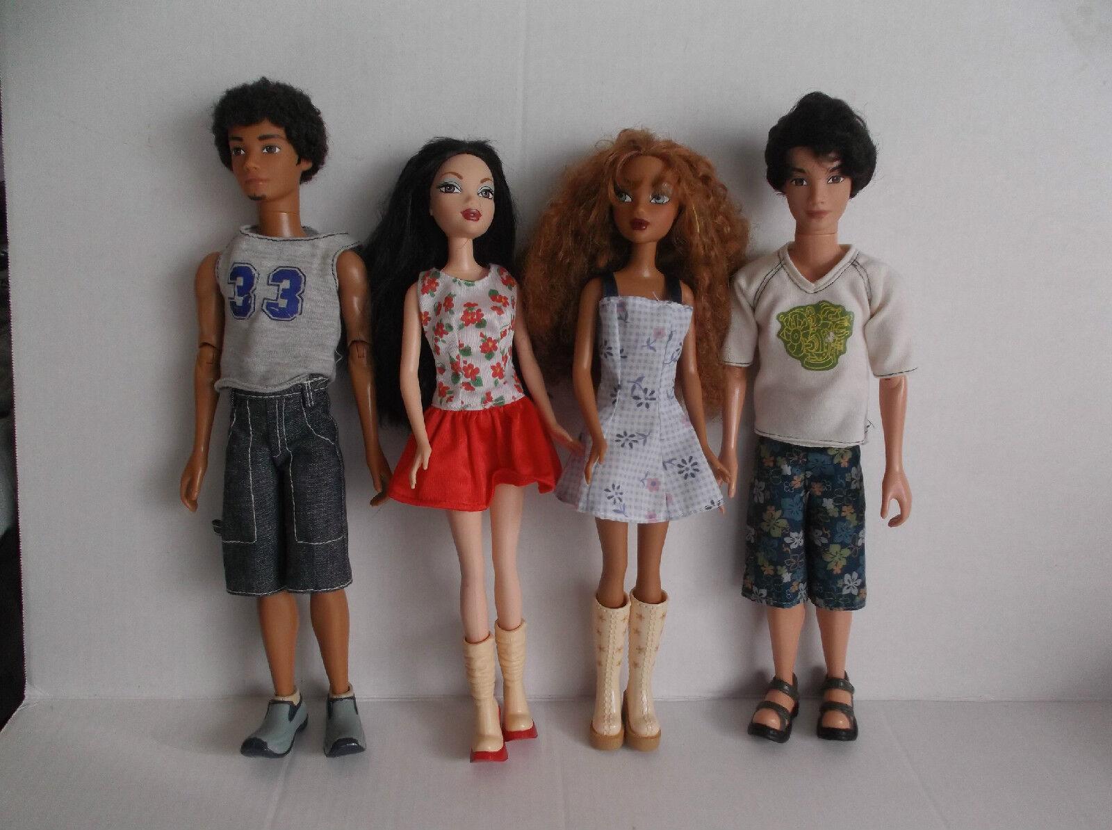 My scene fashion dolls