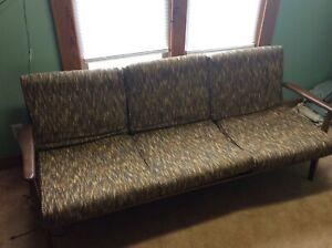Vintage Baumritter Danish Mid Century Modern Couch Sofa